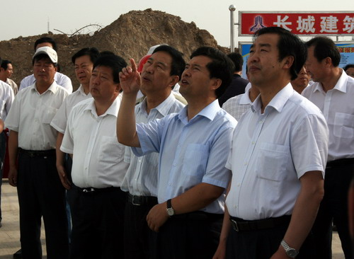 宁夏对全区沿黄城市带建设进行现场观摩督查