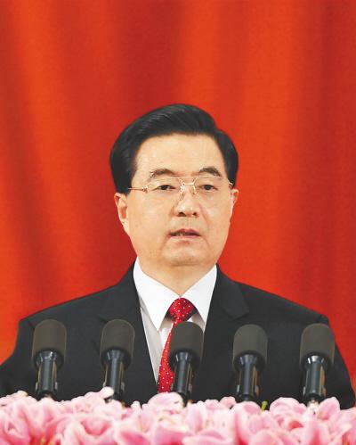 6月7日,中国科学院第十五次院士大会、中国工程院第十次院士大会在北京人民大会堂隆重开幕。中共中央总书记、国家主席、中央军委主席胡锦涛出席会议并发表重要讲话。